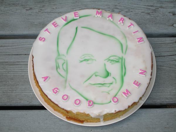 Steve Martin cake