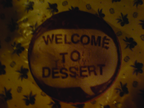 Welcome to Dessert