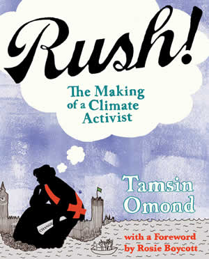 Cover design for 'Rush' by Tamsin Omond
